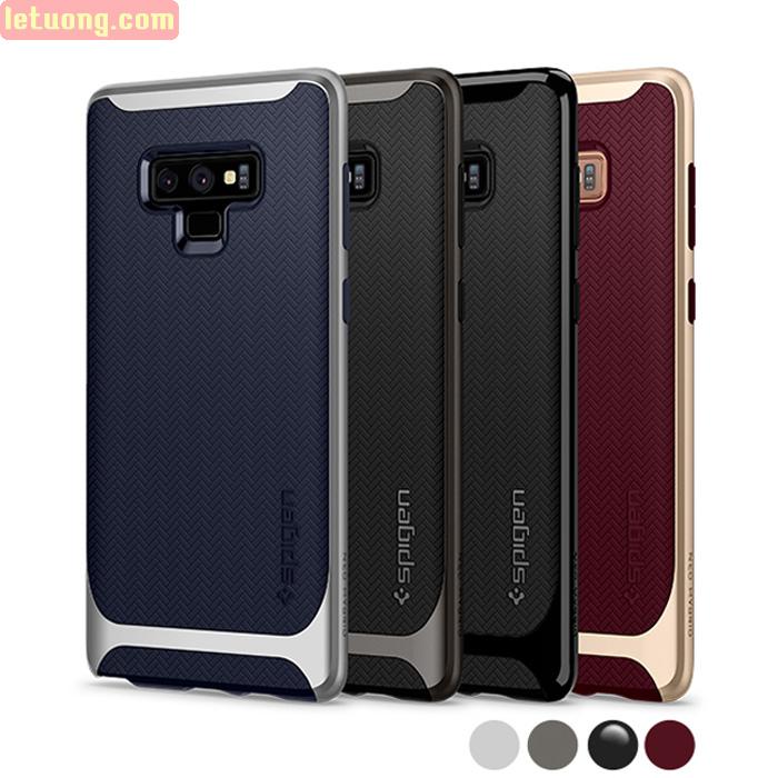 Ốp lưng Galaxy Note 9 Spigen Neo Hybrid viền kép ( hàng USA )