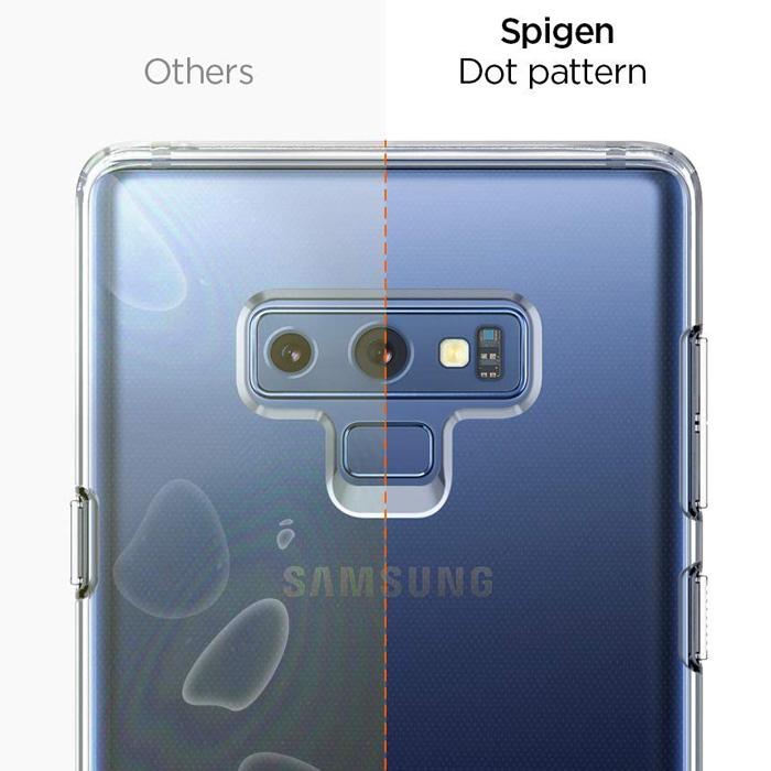 Ốp lưng Note 9 Spigen Liquid Crystal trong suốt - nhựa dẻo ( hàng USA )