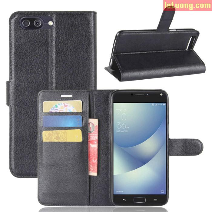 Bao da Zenfone 4 Max Pro ZC554KL LT Flip Wallet đa năng