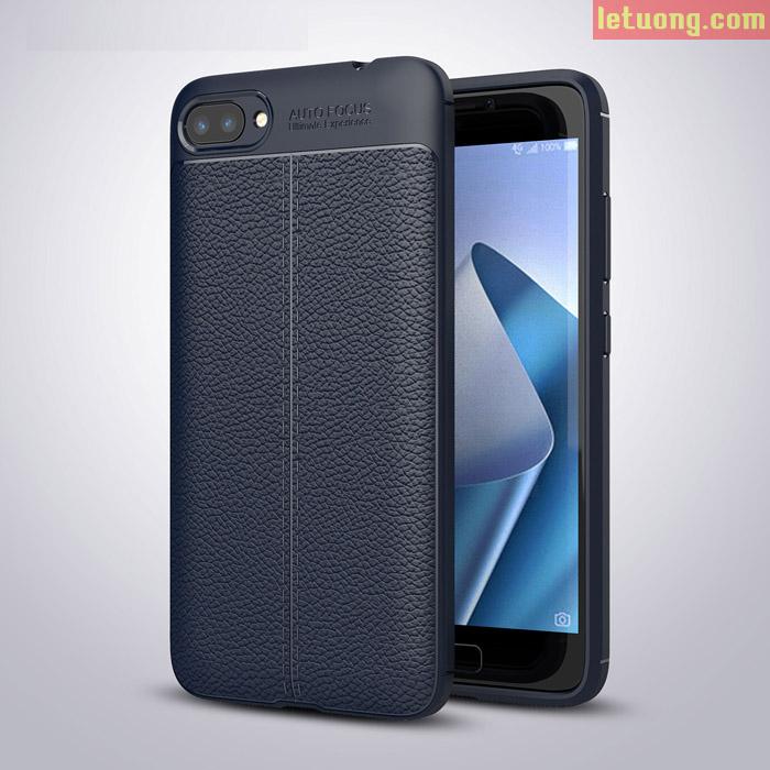Ốp lưng Zenfone 4 Max Pro ZC554KL 5.5 Inch LT Armor nhựa dẻo, vân da