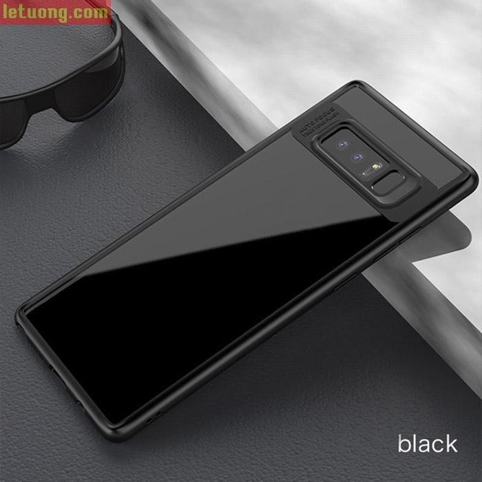 Ốp lưng Note 8 Ipaky Case lưng trong + Viền mềm chống sốc