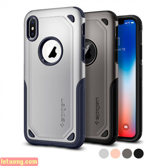 Ốp lưng iPhone X / Iphone Xs Spigen Hybrid Armor New 2018 ( USA )