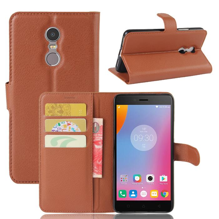 Bao da Lenovo K6 Note LT Flip Wallet đa năng khung mềm chống sốc