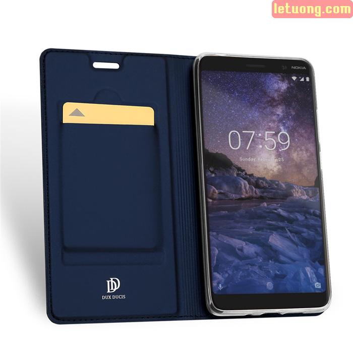 Bao da Nokia 7 Plus Dux Ducis Skin khung mềm - siêu mỏng