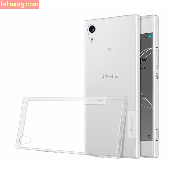 Ốp lưng Sony XA1 Nillkin Nature 0,6mm trong suốt, nhựa dẻo