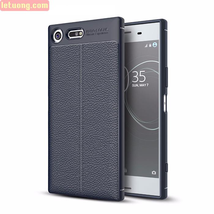 Ốp lưng Sony Xperia XZ Premium Leather Design Case - tặng dán lưng Carbon