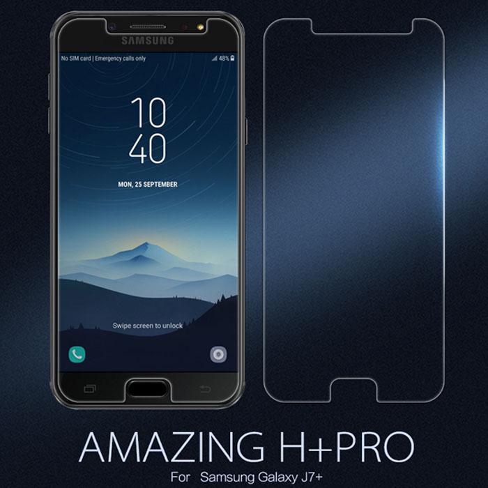 Kính cường lực Galaxy J7 Plus Nillkin Amazing H+ Pro 0,2mm