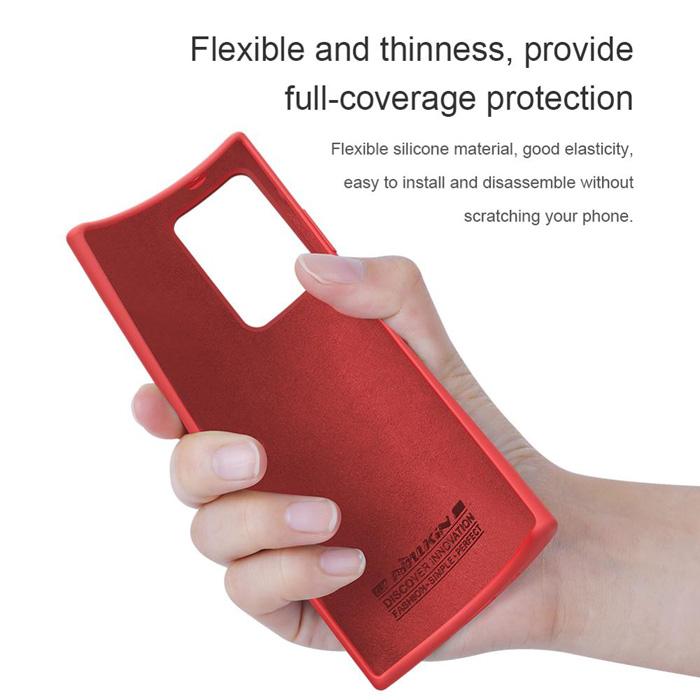 Ốp lưng Samsung Note 20 Ultra / 5G Nillkin Flex Case Silicon mềm mịn
