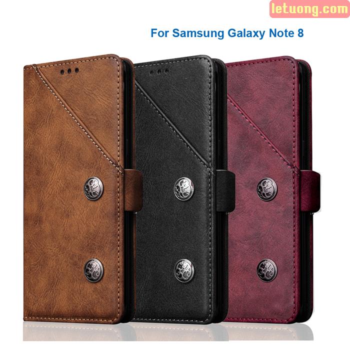 Bao da Galaxy Note 8 Ourhan Leather độc đáo, sang trọng