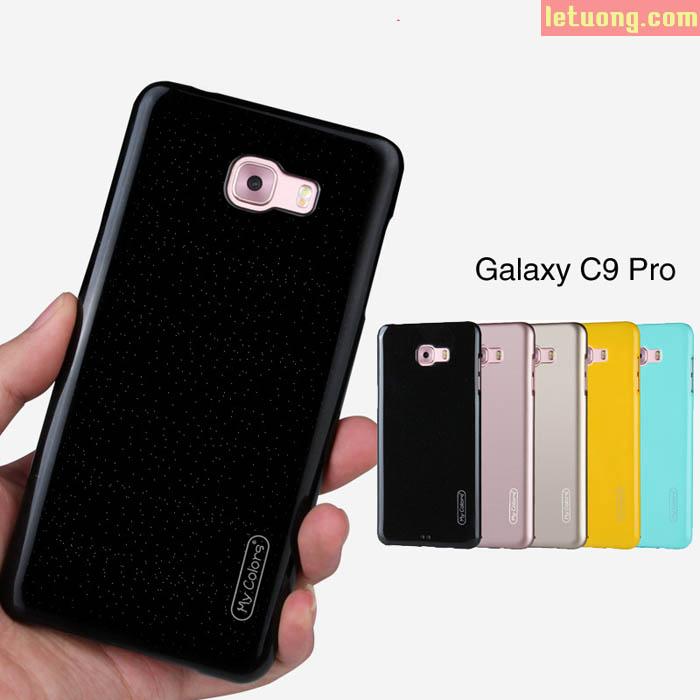 Ốp lưng Galaxy C9 Pro Mycolors Case thời trang nhựa mềm bóng bảy