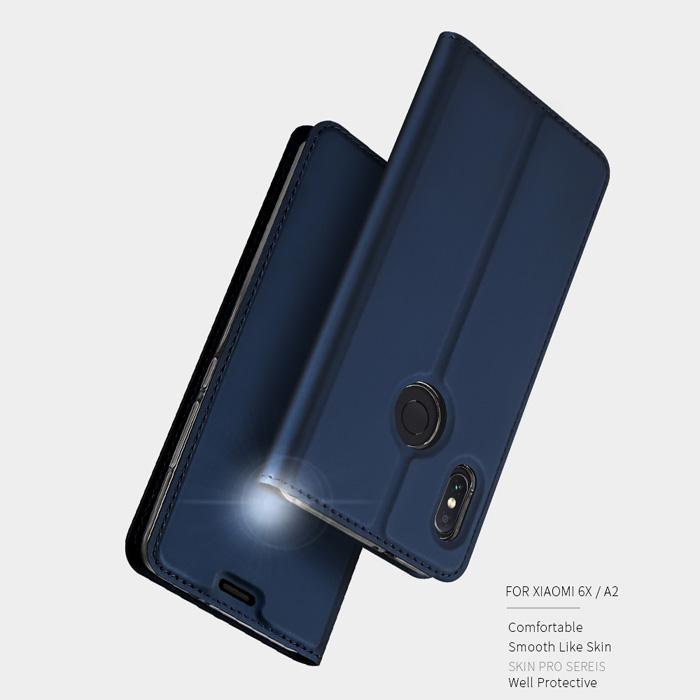 Bao da Xiaomi Mi 6X / Mi A2 Dux Ducis Skin khung mềm - siêu mỏng