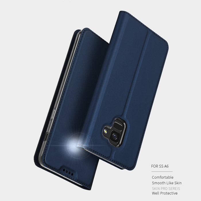 Bao da Galaxy A6 2018 Dux Ducis Skin siêu mỏng - khung mềm - mềm mịn