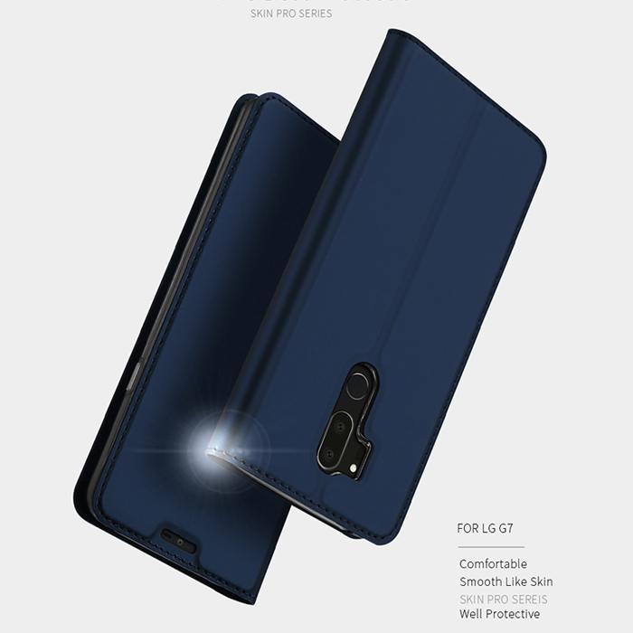 Bao da LG G7 ThinQ Dux Ducis Skin siêu mỏng - khung mềm