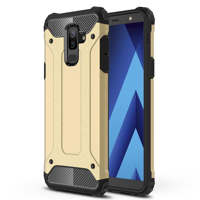 Ốp lưng Galaxy A6 Plus 2018 LT Tough Tech Armor chống sốc - cực ngầu