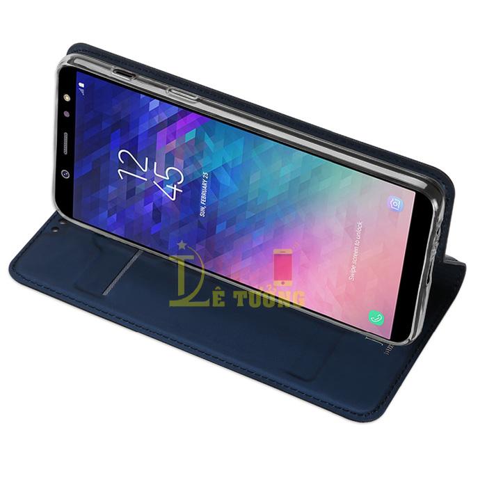 Bao da Galaxy A6 2018 Dux Ducis Skin siêu mỏng - khung mềm