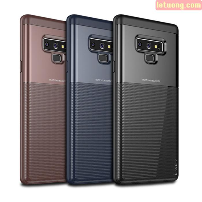 Ốp lưng Galaxy Note 9 Ipaky Unbreank Armor 2 lớp chống sốc cực đẹp