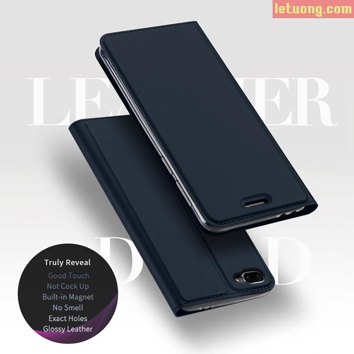 Bao da Zenfone 4 Max Pro ZC554KL Dux Ducis Skin siêu mỏng khung mềm
