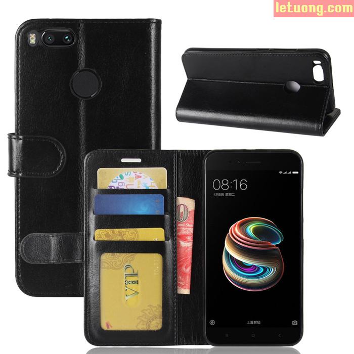 Bao da Xiaomi Mi A1 ( Mi 5X ) LT Wallet Leather đa năng khung mềm