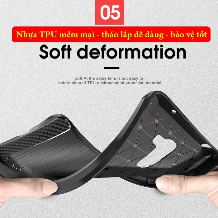 Ốp lưng Pocophone F1 iPaky Rugged Case - chống vân tay