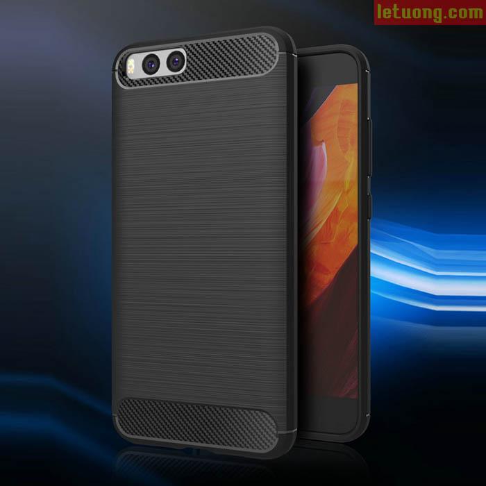 Ốp lưng Xiaomi Mi 6 Viseaon Rugged Armor Carbon nhựa mềm chống sốc