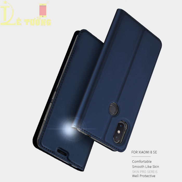 Bao da Xiaomi Mi 8 SE Dux Ducis Skin siêu mỏng - khung mềm - Siêu êm