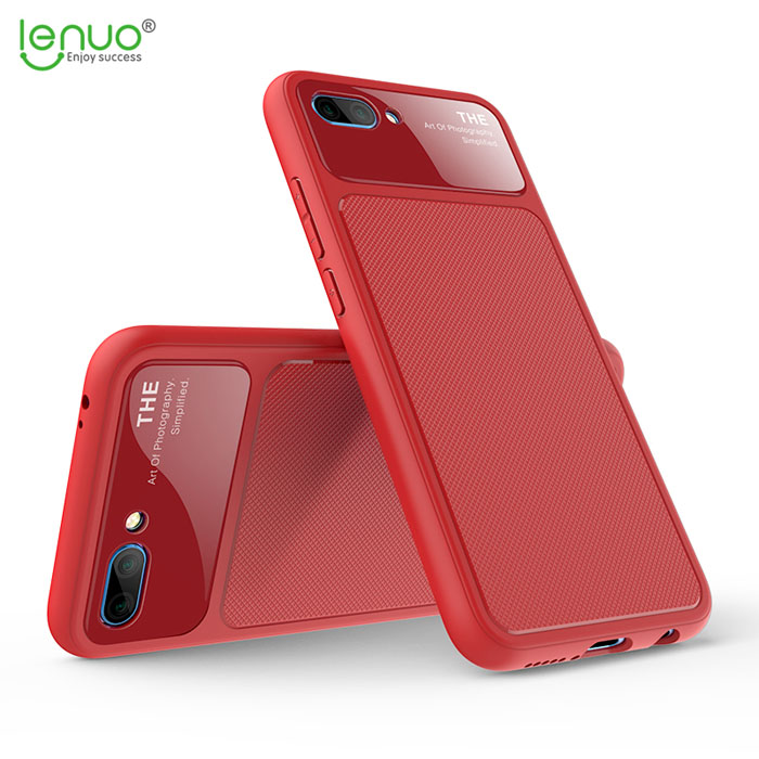 Ốp lưng Huawei Honor 10 Lenuo Lejazz Series chống vân tay