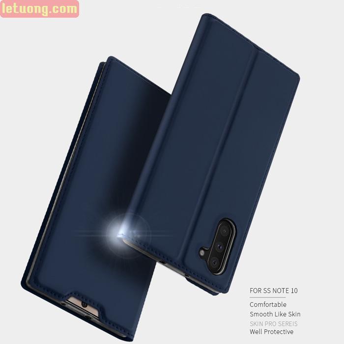 Bao da Galaxy Note 10 Dux Ducis Skin khung mềm - siêu mỏng - siêu mịn