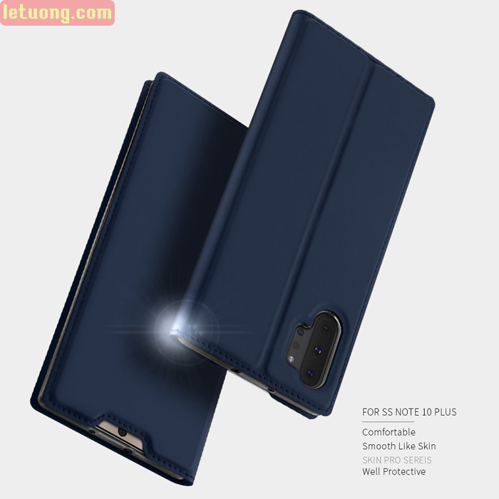 Bao da Galaxy Note 10 Plus Dux Ducis Skin khung mềm - siêu mỏng - siêu mịn