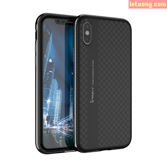 Ốp lưng Iphone X ( iphone 10 ) Ipaky Neo Hybrid viền kép