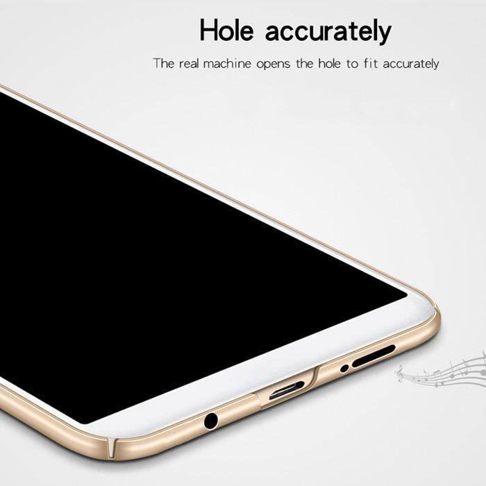 Ốp lưng Galaxy A7 2018 Mofi Fitted Case 360 siêu mỏng, lưng mịn