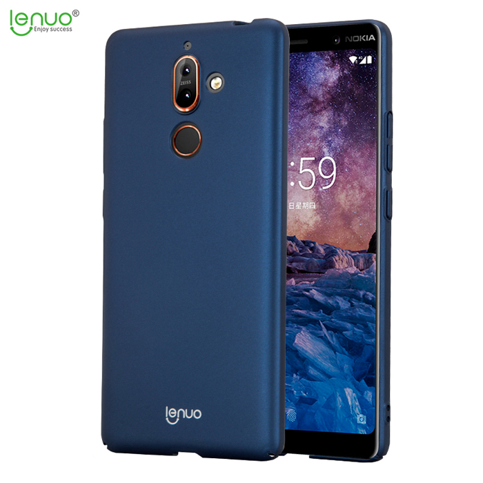 Ốp lưng Nokia 7 Plus Lenuo Leshield Case siêu mỏng, lưng mịn