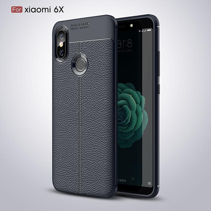 Ốp lưng Xiaomi Mi 6X / Mi A2 LT Leather Design Case vân da chống sốc