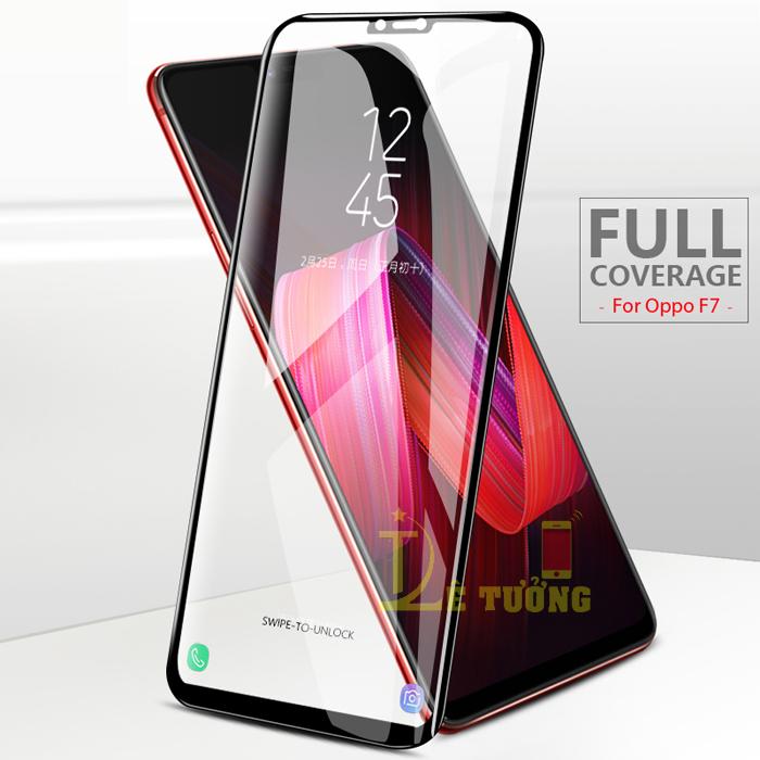 Kính cường lực Oppo F7 Glass Full Cover 5D full keo toàn màn hình
