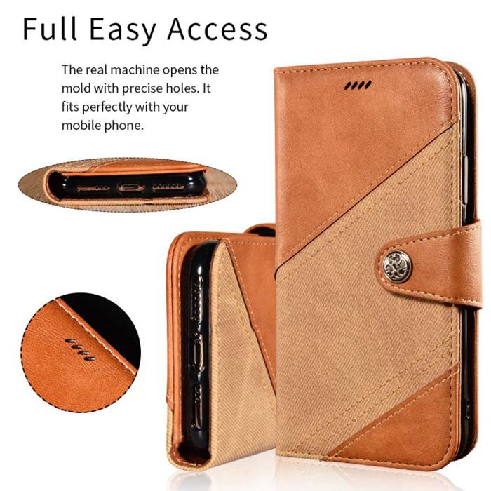 Bao da Oppo A9 2020 LT Wallet Retro dạng ví - khung mềm