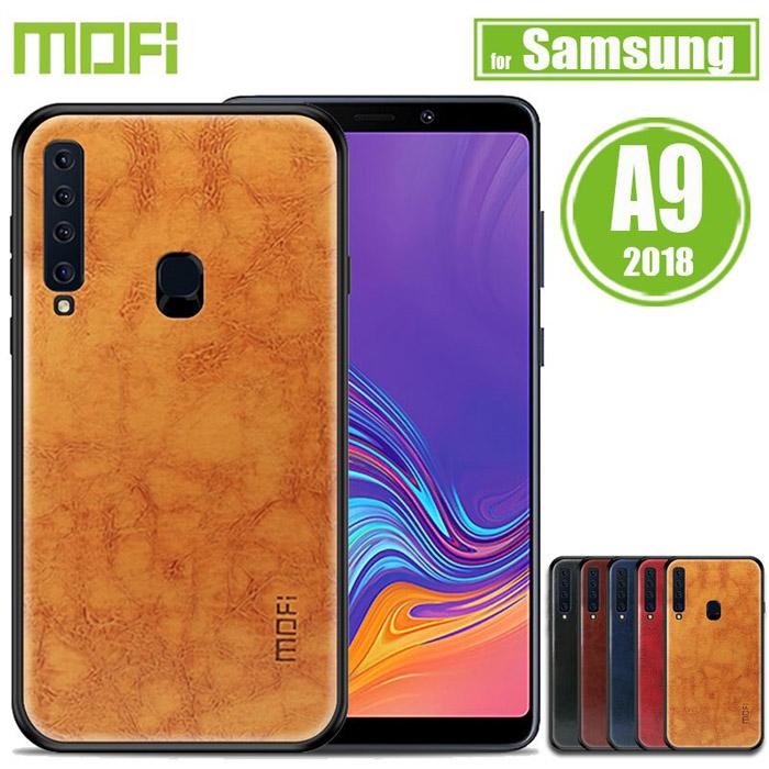 Ốp lưng Galaxy A9 2018 Mofi Pin Series vân da đẹp mắt sang trọng