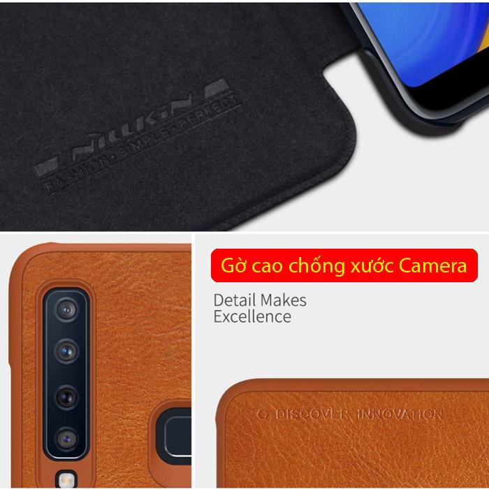Bao da Galaxy A9 2018 Nillkin Qin Leather sang trọng - cổ điển