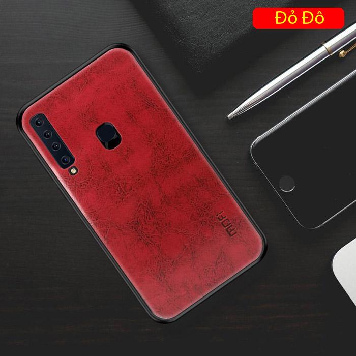 Ốp lưng Galaxy A9 2018 Mofi Pin Series vân da - cực đẹp