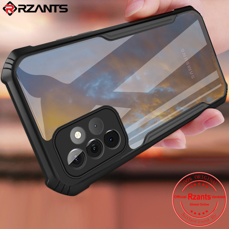 Ốp lưng A52 5G Rzants Fusion Armor trong suốt chống sốc