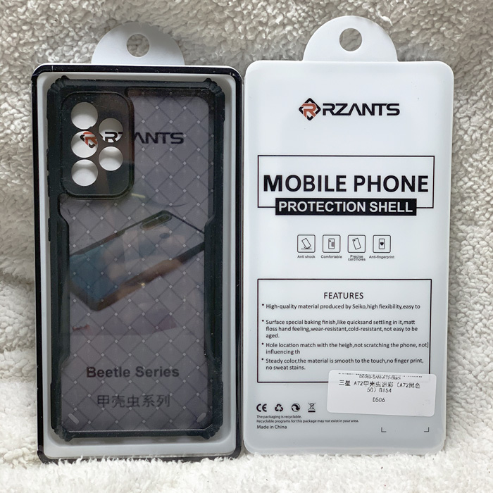 Ốp lưng Samsung A72, A72 5G Rzants Armor Knit Fabric 3D