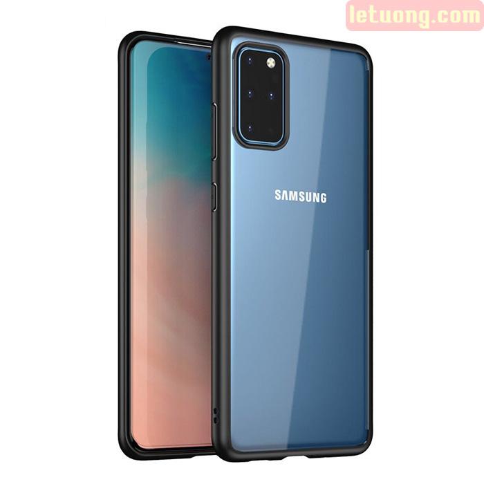 Ốp lưng Galaxy S20 Plus Ipaky Original Hybrid viền mềm + lưng trong suốt