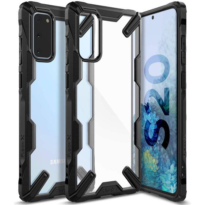 Ốp lưng Galaxy S20 Ringke Fusion X ( từ USA )