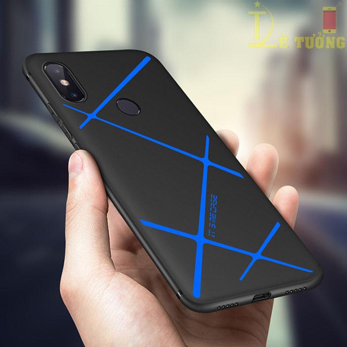 Ốp lưng Xiaomi Mi 8 SE LT LT TPU kẻ chéo siêu mỏng - siêu đẹp