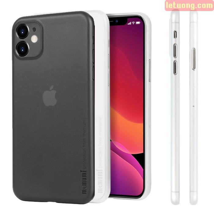 Ốp lưng iPhone 11 Memumi Ultra Thin 0,3 siêu mỏng - siêu nhẹ