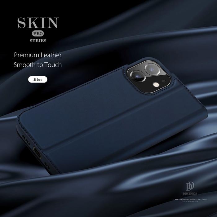 Bao da iPhone 12 / 12 Pro Dux Ducis Skin siêu mỏng - mềm mịn