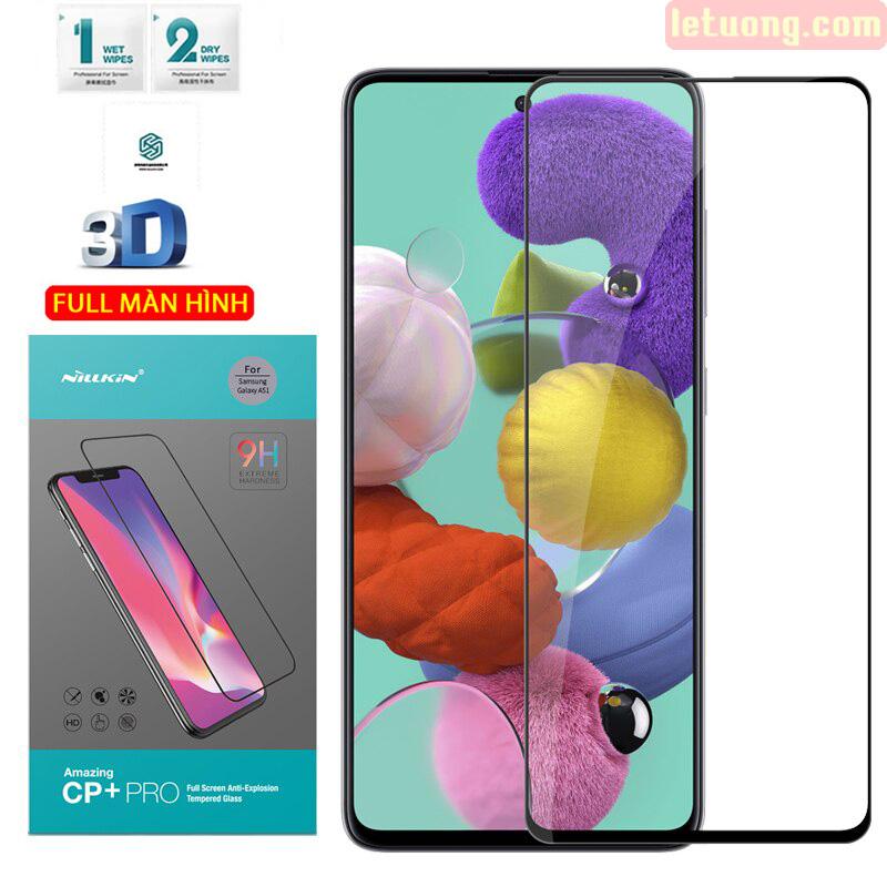 Kính cường lực Galaxy A51 Nillkin 3D CP+ Pro full toàn màn hình