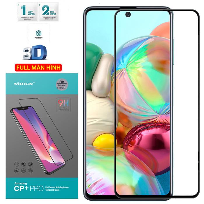 Kính cường lực Galaxy A71 Nillkin 3D CP+ Pro full toàn màn hình
