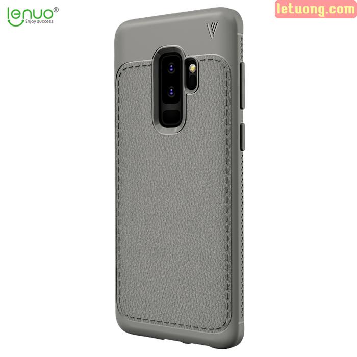 Ốp lưng Galaxy S9 Plus Lenuo Leshen Serie vân da sang trọng