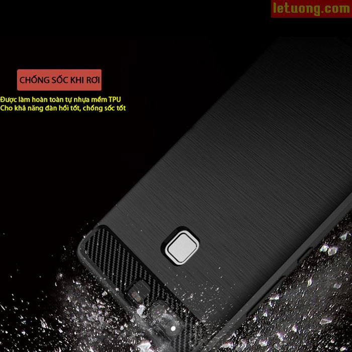 Ốp lưng Huawei P9 Ipaky Rugged Armor nhựa mềm chống sốc