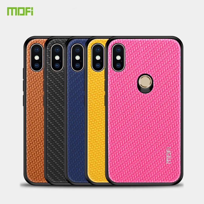Ốp lưng Xiaomi Mi 8 Mofi Honors Series vân vải - cực độc - chống xước