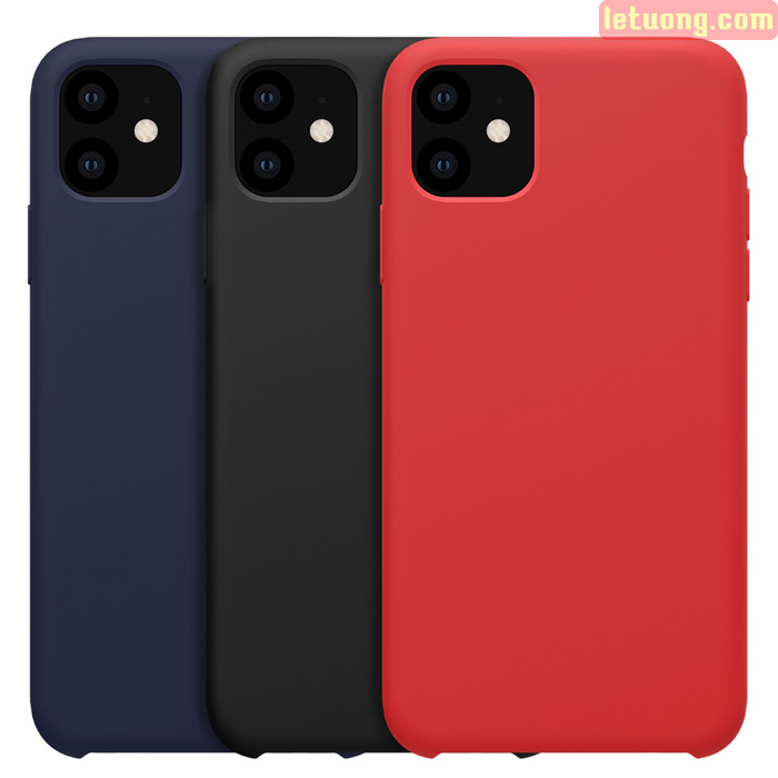 Ốp lưng iPhone 11 Nillkin Flex Case Silicon siêu mềm mịn